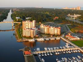 Villas at Marina Inn at Grande Dunes, serviced apartment in Myrtle Beach