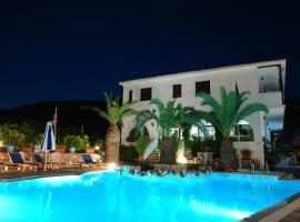 Afroditi, hotell nära Skopelos hamn, Panormos Skopelos