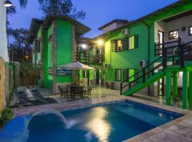 Pousada Recanto verde, guest house in Paraty