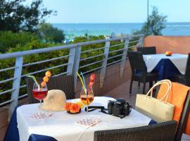 Hotel Rossini, hotell i Pesaro