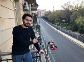 Apartment perfect view F1 and Sea, hotel perto de Azerbaijan Carpet Museum, Baku