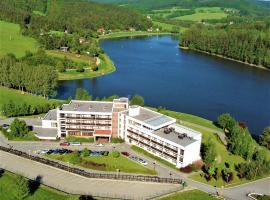 Hotel Adamantino, отель в Лугачовице