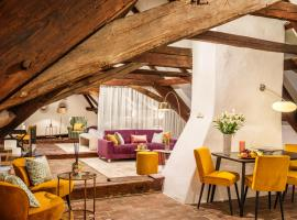 Bellevue Hotel Diamond Suites, hotel v destinaci Český Krumlov