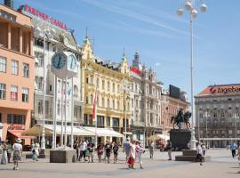 Angel Main Square Center Zagreb, apartment in Zagreb