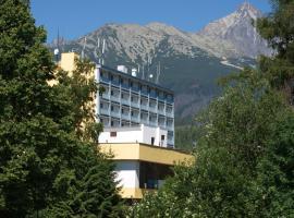 Hotel SOREA URÁN, hotel near Lomnicky peak, Vysoké Tatry - Tatranská Lomnica