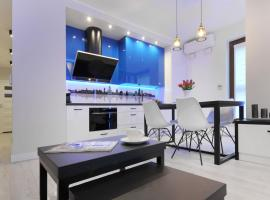 Bulwary Wislane P&O Serviced Apartments with AC – hotel w Warszawie