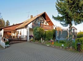 Comfortable Apartment in Wichsenstein Bavaria with Terrace, hotel in Gößweinstein