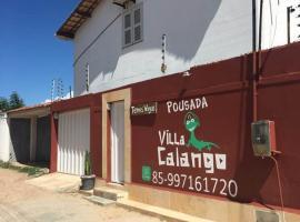 Pousada Villa Calango, hotel with pools in Canoa Quebrada