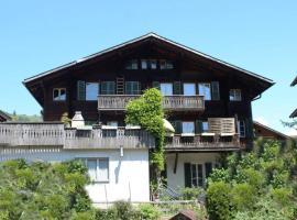 Apartment Gerberhaus, hotel in Zweisimmen