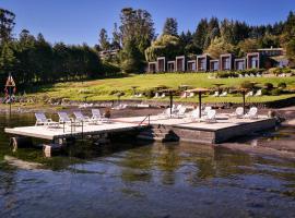 Hotel y Cabañas El Parque, hotel en Villarrica