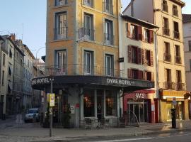 ディーキ ホテル、ル・ピュイ・アン・ヴレのホテル