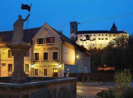Hotel u Martina - Kocábka, hotel near Lipno Dam, Rožmberk nad Vltavou