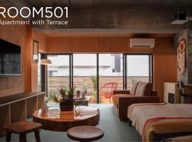 EARTHMANS Amemura, hotel in Osaka