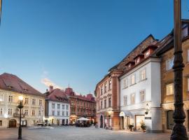 Hotel Galleria, hotel in Ljubljana