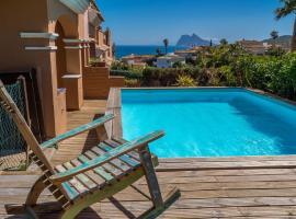 2166-Villa with garden, private pool, barbecue, hotel en San Roque