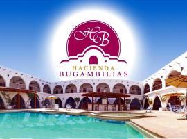 Hotel Hacienda Bugambilias, hotel en La Paz