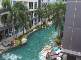 Central Pattaya Apartments, hotel near The Avenue Pattaya, Pattaya