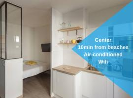 Nicelidays - Le Berlioz - city central - 7min from beaches, hotel en Niza