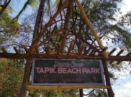 Tapik Beach Park Guest House, glamping site in El Nido