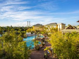 Universal's Loews Royal Pacific Resort, hotel with pools in Orlando