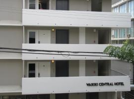 Waikiki Central Hotel - No Resort Fees, viešbutis Honolulu