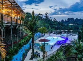 Hotel Santa Maria de las Aguas Peñol, hotel in Guatapé