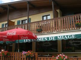 Hôtel Les Dômes de Miage, hôtel à Saint-Gervais-les-Bains près de: Télécabine du Jaillet