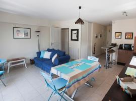 Appart Résidence proche plage avec piscine, apartment in Merville-Franceville-Plage