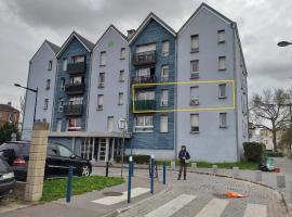 Chez Daniel, un 2 pièces calme et proche de Paris, hotel near La Courneuve-Aubervilliers RER Station, Aubervilliers