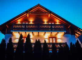 Willa Donia – hotel w pobliżu miejsca Stacja kolejowa Polana w Ustroniu