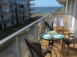 OPAL z widokiem na morze w Gardenia Sea Side Dziwnów, apartment in Dziwnów
