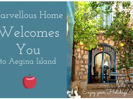 Marvellous Home, for Summer & Winter, pet-friendly hotel in Aegina Town