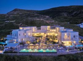 Milos Breeze Boutique Hotel, hotel near Papafragas Beach, Pollonia