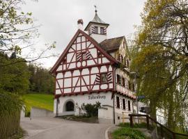 Hotel Restaurant Falkenburg, hotel in St. Gallen