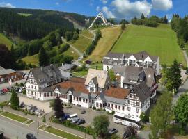 Vakantiehotel Der Brabander Apartments, hotel with pools in Winterberg