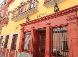 Hotel Santa Regina, отель в городе Гуанахуато