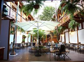 Hotel Emblemático San Agustin, hotel i Icod de los Vinos
