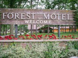Forest Motel & Woodland Retreat, motel in Stratford