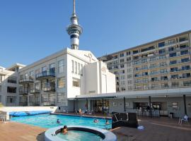 QV Walk to the waterfront, apartment in Auckland