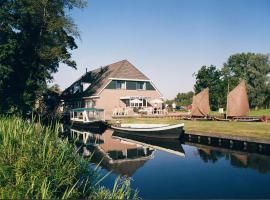Hotel de Harmonie, hotel in Giethoorn
