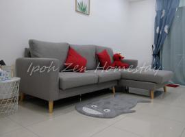 Ipoh Zen Homestay @ Waterpark, apartment in Ipoh