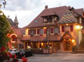 Hôtel Le Mittelwihr, hotel near Le Haut Koenigsbourg, Mittelwihr
