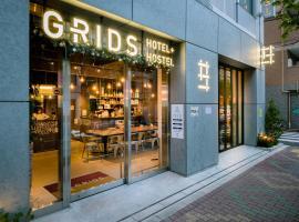Grids Tokyo Asakusa-bashi Hotel&Hostel, hotel in Tokyo