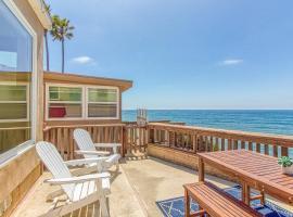 Ocean Beach Cliffs Sanctuary, vacation home in San Diego