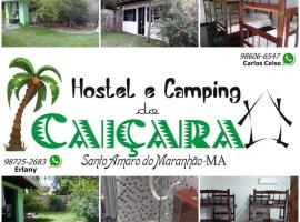 Hostel e Camping Caiçara, self catering accommodation in Santo Amaro