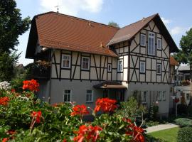 Pension Lindenhof, hotel near Tiefurt Mansion and Park, Kromsdorf