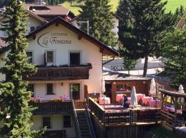 Ostaria La Fontana, hotell i Corvara