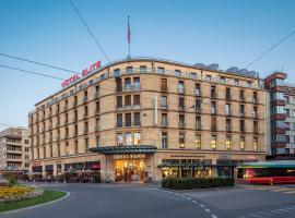 Art Déco Hotel Elite, hôtel à Biel près de: Congress Centre Biel