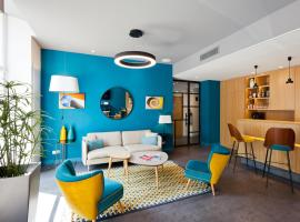 Hotel Des Remparts Perrache, accessible hotel in Lyon