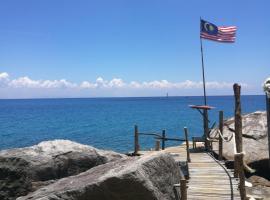 Warna Warni Cabin, Hotel in Perhentian-Inseln